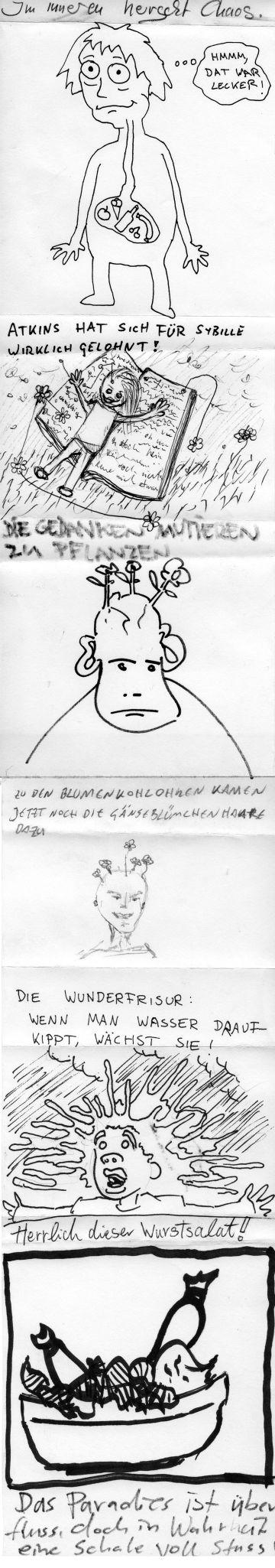 Cadavre Exquis: Wurstsalat